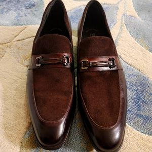 Stacy Adams Brown Leather Loafers